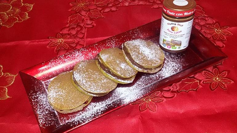 Pan cakes alla Nutra Nut senza latte!