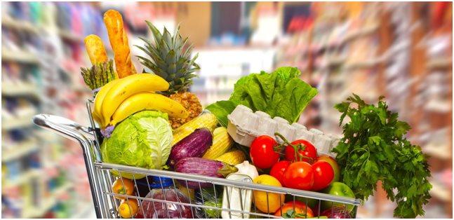 dieta mediterranea carrello spesa