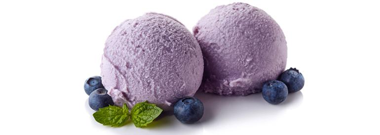 Antioxidant ice cream