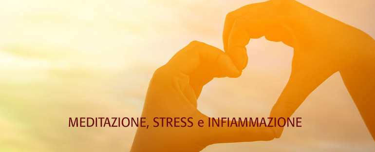 Meditation, stress and inflammation