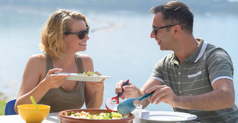 Nutrirsi in vacanza