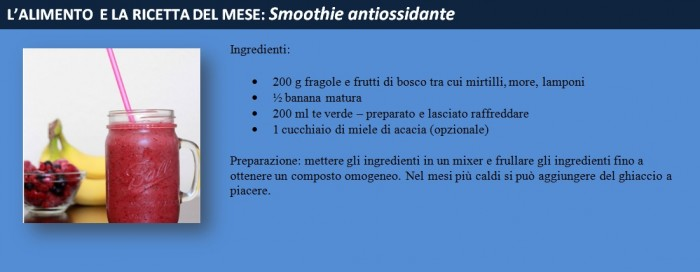 smoothie antiossidante