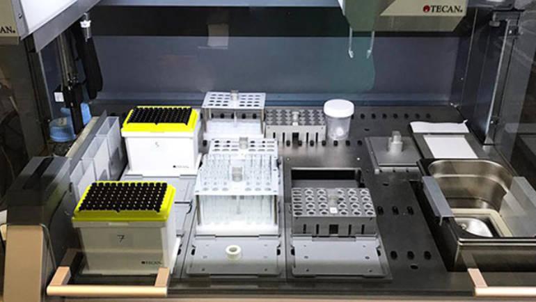 L'unità robotica LNG-R1: tecnologia robotica avanzata in lipidomica